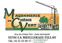 MAÇONNERIE DU CHÊNE VERT, LA MEILLERAIE-TILLAY 85700